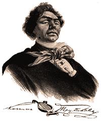 Вымышленный «портрет» Пруткова, созданный Львом  Жемчужниковым, Александром  Бейдеманом и Львом  Лагорио