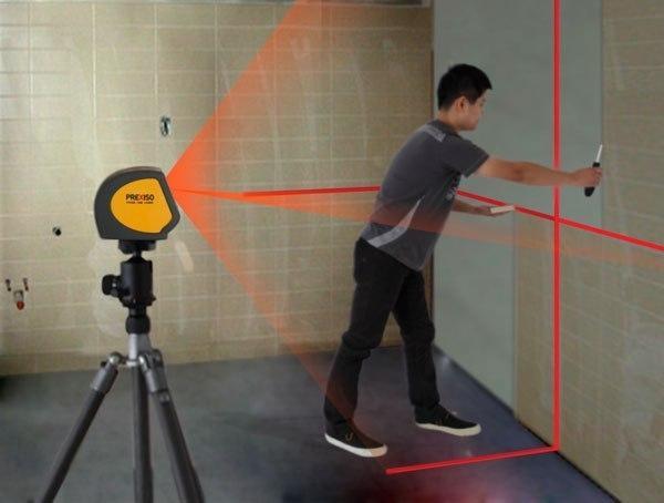 Как выбрать лазерный уровень для строительства и дома