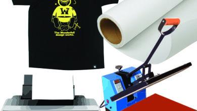 Photo of Печать изображений и надписей на футболках