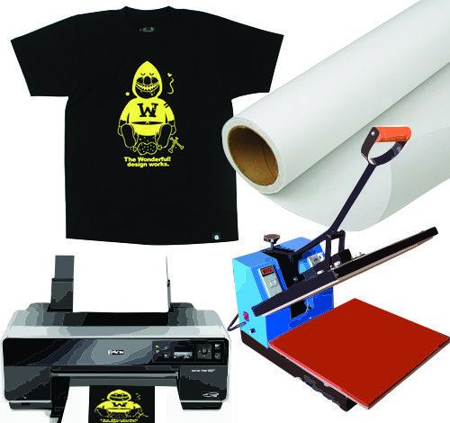 Печать изображений и надписей на футболках
