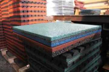Бизнес по производству плитки из резиновой крошки